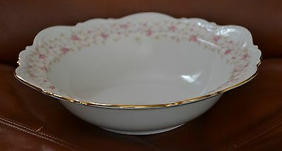 VINT MITTERTEICH,LADY CLAIRE,GERMANY CHINA, VEGETABLE BOWL,9 3/4 WIDE X2 3/4HIG