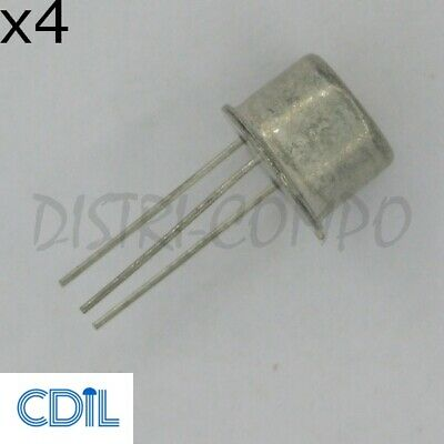 2N5415 Transistor PNP TO-39 200V 1A CDIL RoHS (Lot de 4)
