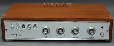 Vintage Metro Sound St20 Integrated Amplifier - Powers On