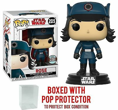 Funko Pop Star Wars Specialty Series - ROSE #205 Vinyl w/Protector Case -INSTOCK