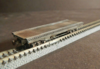 Nn3 Scale 24 Ft. Flat Car Kit by Showcase Miniatures (5001)