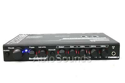 AudioControl THREE.2 In-Dash Equalizer Subwoofer Crossover Dual Auxiliary Inputs