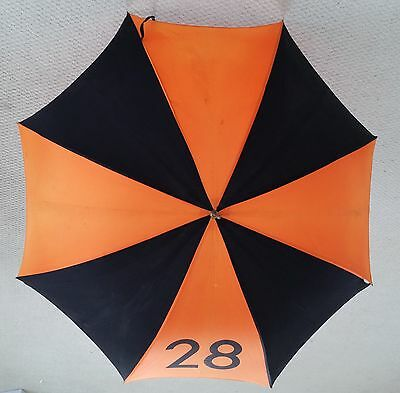 PRINCETON UNIVERSITY Class of 1928, Vintage Silk Umbrella, Carried in P-rade
