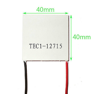 15A TEC1-12715 Heatsink Thermoelectric Cooler Cooling Peltier Plate Module uk201