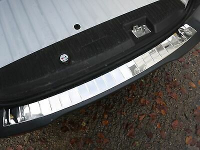 Chrome Stainless Steel Rear Bumper Sill Trim Cover Guard Ford Transit Courier