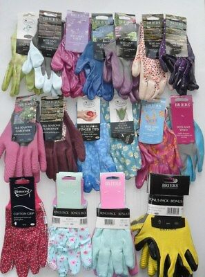 Briers Gardening Gloves General Seed & Weed All Season Jersey Cotton