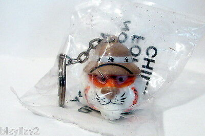 Exxon Tiger Your Tank keyring  gas oil company promo item Exxon Esso 1997 NIP