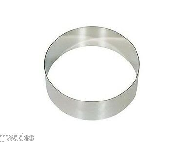 "10"" Dough Cutting Ring For Pizza, Pastry, Cake, Pie & More  2-1/2"" Tall**new**"