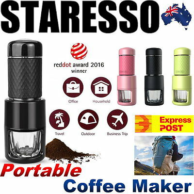 STARESSO Portable Coffee Maker Espresso Cappuccino Quick Cold Brew All in One