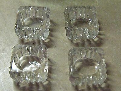 crystal salt serving containers