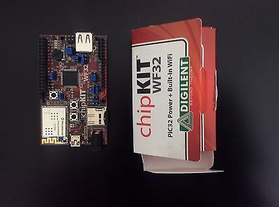 chipKIT WF32, PIC32MX695F512H, based on Arduino system