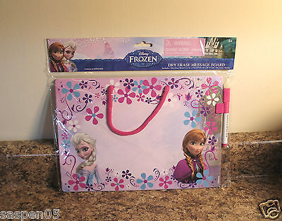 Disney Frozen Dry Erase Board with Marker Message Drawing NEW