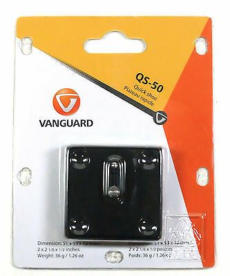 Vanguard QS-50 Quick Release Plate NEW