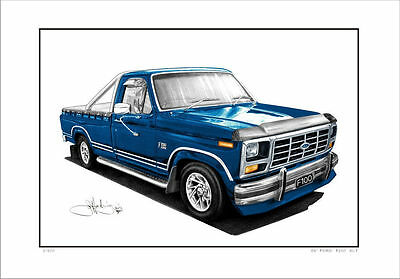 1984  Ford  F100  Pick Up Truck      Limited Edition