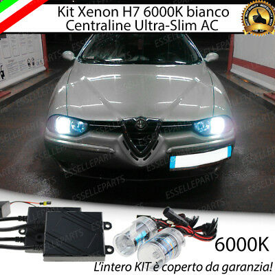 Kit Xenon Xeno H7 6000K Ac 35W Specifico Alfa Romeo 156 No Error Con Garanzia