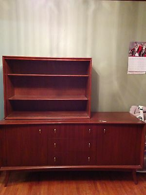 Art Deco ('50's) Sideboard and China Cabinet