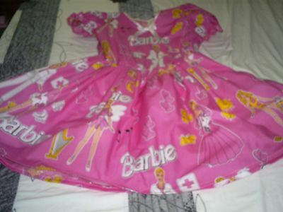 "ADULT BABY SISSY BARBIE DRESS FULLY LINED IN NOISY PLASTIC SIZE 50""CHEST"