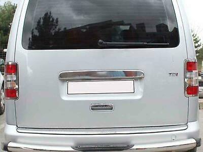 Chrome Stainless Steel Tailgate Door Rear Grab Handle Cover for VW Caddy (04-10)