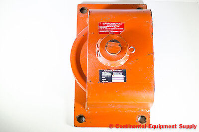 """Jeamar Winches, Single 8"""" Sheave HB10500, Horizontal Direction Block, Pulley"""