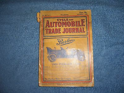 CYCLE AND AUTOMOBILE TRADE JOURNAL - 1908/SC/Automobiles/Cycles/Journals