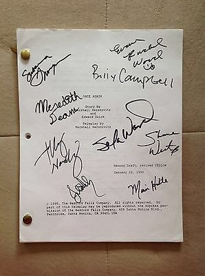 Once and Again Cast Signed Script w/ Cast Photo- Billy Campbell Sela Ward RARE~!