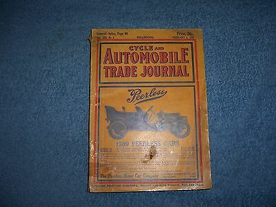 CYCLE AND AUTOMOBILE TRADE JOURNAL - 1909/SC/Automobiles/Cycles/Journals