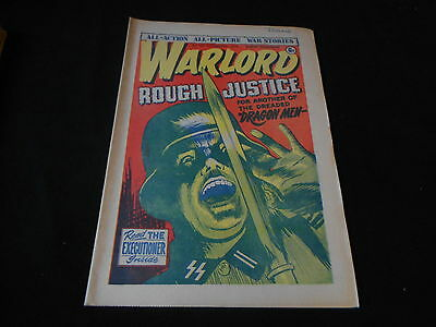 WARLORD Comic - Issue 107 - Date 09/10/1976 - UK Paper Comic