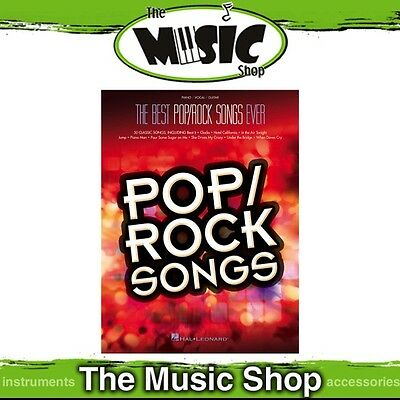 New The Best Pop/Rock Songs Ever PVG Music Book - Piano Vocal Guitar