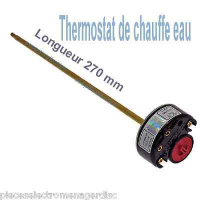 Thermostat chauffe eau THERMOWATT Type RTM embrochable 270 mm type RTS3 TAS 270