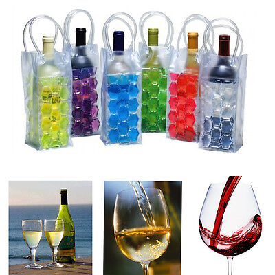 Quality Bottle Ice Bag Cooler Party Picnic Gel Can Cooling Holder Handy Carrier
