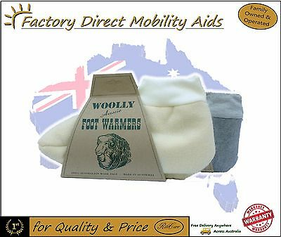 Australian Woolly Foot Warmers Slippers Lambs wool 100% Wool