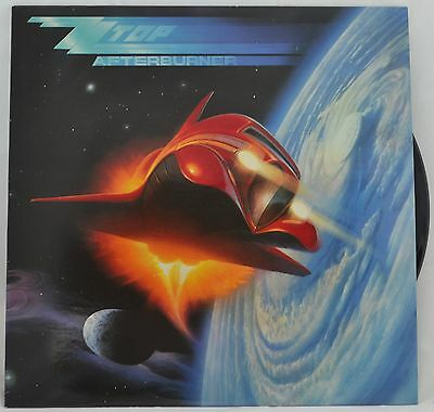 Afterburner ZZ Top 9 25342-1E VG  Vinyl LP Record Album