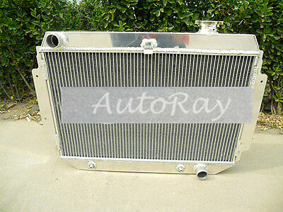 Aluminum Radiator for Holden Kingswood HQ HJ HX HZ V8 Chevy AT/MT Auto Manual