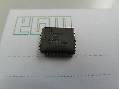 10x AM29F040-90JC Flash Memory, 4MB, 90ns, Plcc32, AMD (Lager G112)