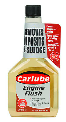 2 x Carlube Engine Flush 300ml QPF300 Oil, Diesel and Petrol