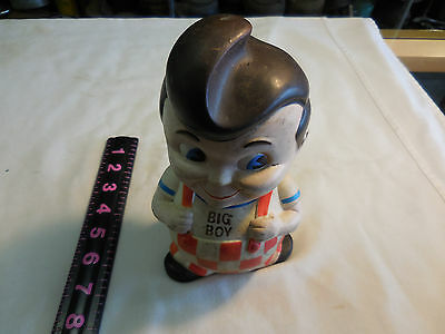 BIG BOY RESTAURANT COIN BANK-has no bottom plug
