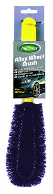 Triplewax Alloy Wheel Cleaning brush CTA012 Valet Non Abrasive durable Bristles