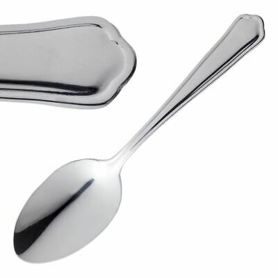 12X Olympia Dubarry Dessert Spoon 181mm 18/0 Stainless Steel Serving Cutlery