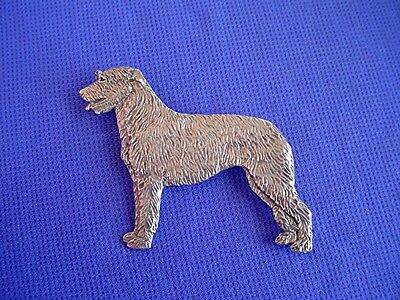 Irish Wolfhound Pin #21B Pewter Sighthound dog jewelry by Cindy A. Conter Hound