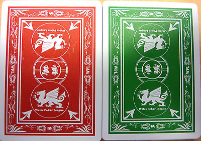 Wales Poker League Playing Cards