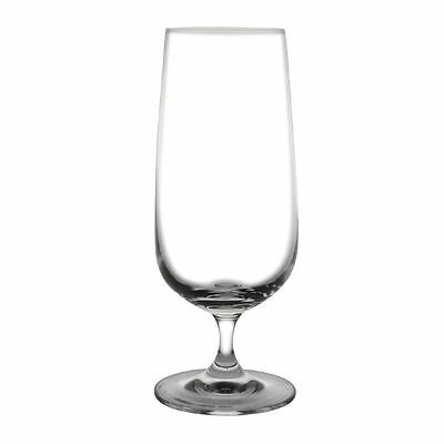 Pack of 6 Olympia Bar Collection Crystal Stemmed Beer Glasses 410ml