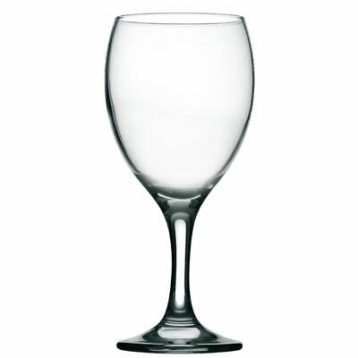 12X Utopia Imperial Wine Glasses 340Ml CE Marked At 125Ml, 175Ml & 250Ml