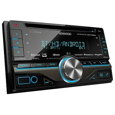 Kenwood DPX791BH 2-DIN CD Receiver with Built in Bluetooth and HD Radio