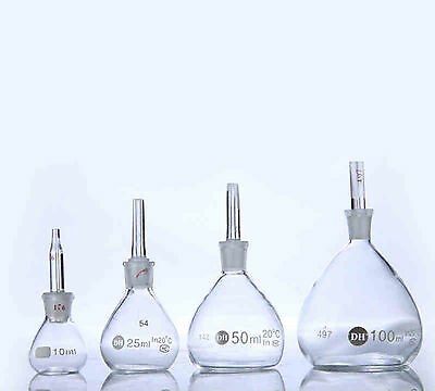 100ML Lab Glassware Specific Density Gravity Bottle Pycnometer New #J563 lx