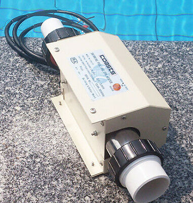 220V NEW Swimming Pool and SPA Heater Electric Heating Thermostat 3KW