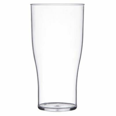 Polystyrene Beer Glasses Glassware - Glasswasher Safe - CE Marked - x48 - 570ml