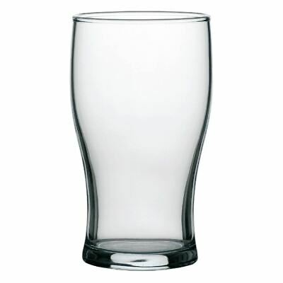 Arcoroc Tulip Beer Glasses in Clear Made of Tough Glass 10 oz / 285 ml