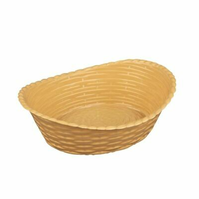 Olympia Kristallon Bar Meal Basket 260x215Mm Oval Tableware Food Serving Chips