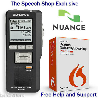 Olympus DS-7000 with Dragon 13 Premium Speech Recognition Software
