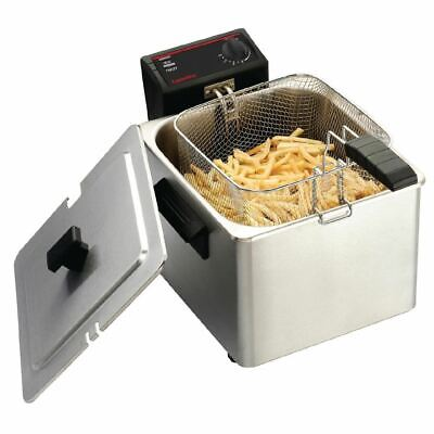 Caterlite Light Duty Single Tank Countertop Electric Fryer 8Lt Catering Kitchen